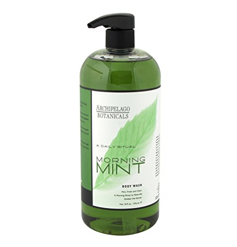 Archipelago Botanicals Morning Mint Body Wash 33 oz