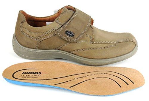 Jomos 413206-12 Quantum Zapatos de cuero para hombre Beige