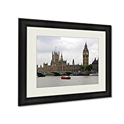 Ashley Framed Prints London Landmarks Art photography interior design artwork framed office 24x30 art