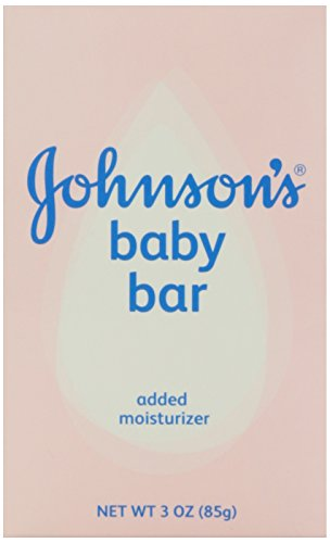 Johnson's Baby Bath Bar Soap, 3 oz. - Johnsons Baby Soap Bar