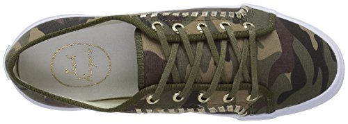 Jack Rogers Mujeres Carter Fashion Sneaker Camouflage Canvas