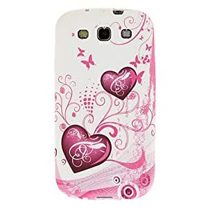 Heart and Rhythm Pattern Soft Plastic Cover Case for Samsung Galaxy S3 I9300