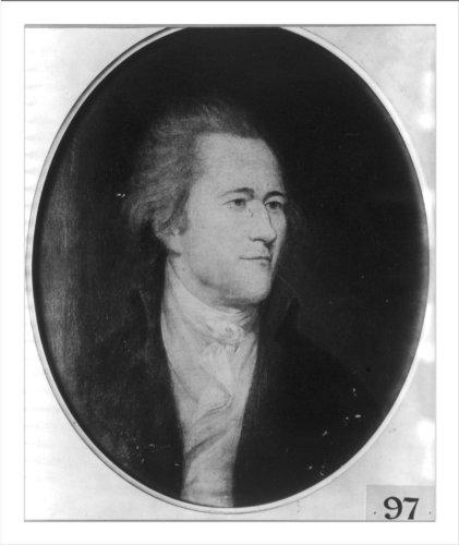 Historic Print (L): [Alexander Hamilton, bust portrait, facing right]