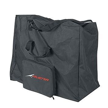 Avenir BAG01 - Bolsa para bicicletas plegables, color negro