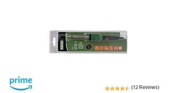 Salki 8600206 - Soldador recto 40w: Amazon.es: Industria, empresas y ciencia