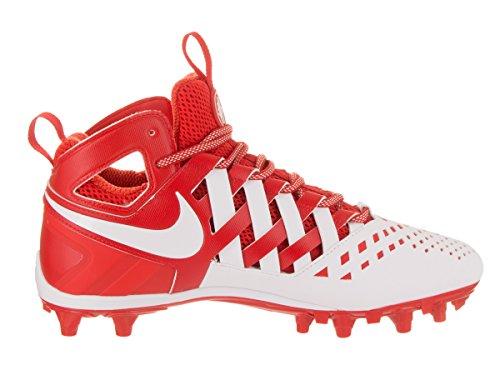 Huarache Cleated Challenge Shoe Men's White LAX White V Nike Red 51w6pRRqU