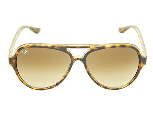 Ray Ban Cats 5000 RB4125 710/51 Tortoise/ Crystal Brown Gradient 59mm Sunglasses