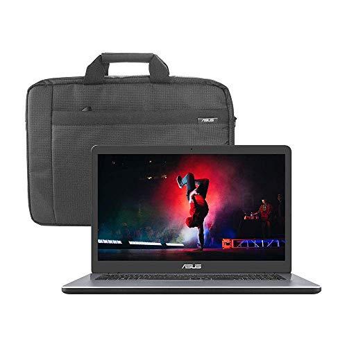 ASUS VivoBook X705MAR 17.3″ HD+ Laptop (Intel Celeron N4020, 8GB RAM, 1TB Hard Drive, Windows 10) – Includes Carry Bag, Star Grey