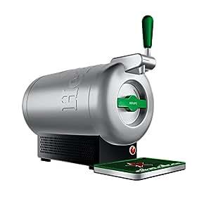 Krups The Sub Diamond - Tirador de cerveza, aluminio