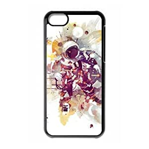 iPhone 5c Phone Case Covers Black Summer Nights CZF Cell Phone Case 3D Design