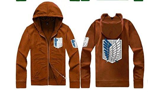 Liberty Of Badge Kyojin No On Jacket Attack Wings Titan Shingeki wzqOBBT