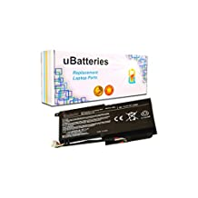 UBatteries Laptop Battery Toshiba Satellite L45D L50 L55-A L55T-A P50 P50T P55 P55T S50 S50D S50T S55-A S55D S55T P000573230 P000573240 PA5107U-1BRS - 4 Cell, 43Whr