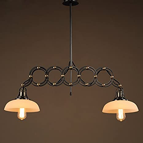 Iron Pendant Lights Flexible Pendant Lamps Loft Industrial ...