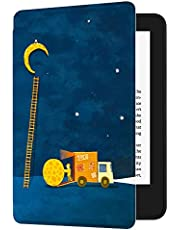 Huasiru Painting Case for All-New Kindle (10th Gen - 2019 Release only—Will not fit Kindle Paperwhite or Kindle Oasis), Moon