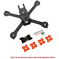 iFlight RACER iX5 200mm FPV Racing Quadcopter Frame Kit Carbon Fiber with Tail Light and Battery Protector Plate (Non-assembled)