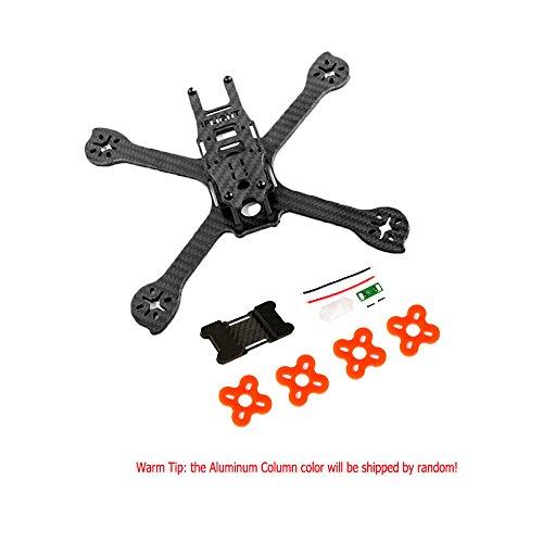 iflight racer ix5 v2 5 inch 210mm low ride fpv quadcopter frame kit 4mm carbon fiber with