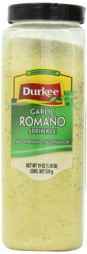 Romano Garlic (Durkee Italian Seasoning Garlicromano, 19-Ounce Containers (Pack of 2))