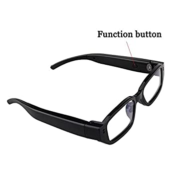 db065ddfe7 Buy GoldWorld 4GB 720P Digital Video Recording Spy Glasses (Black) Online  at Low Price in India