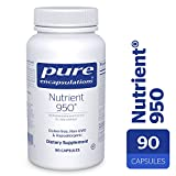 Pure Encapsulations – Nutrient 950 – Hypoallergenic Multi-vitamin/Mineral Formula for Optimal Health* – 90 Capsules