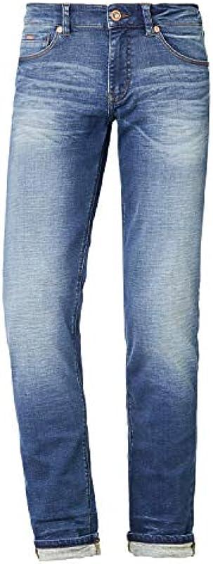 Dżinsy dżinsowe z 5 kieszeniami.: Odzież