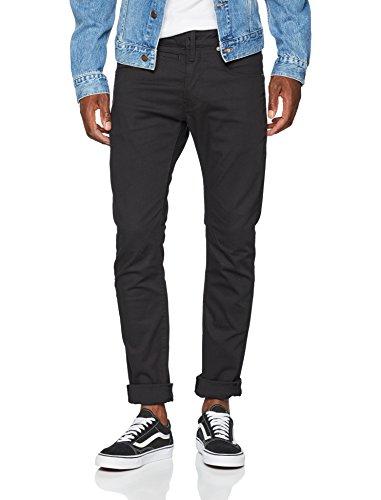 G star Slim 082 Uomo Nero Jeans rinsed Raw ZFrOnxRZ