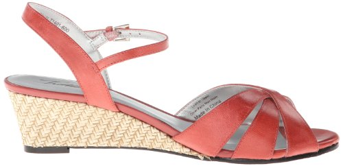 Mickey Pump Women's TROTTERS Wedge Red 5qTCtwU