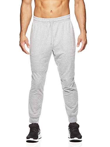 HEAD Men's Running Pants - Performance Athletic Workout & Training Sweatpants - Nitro Sleet Heather, Medium