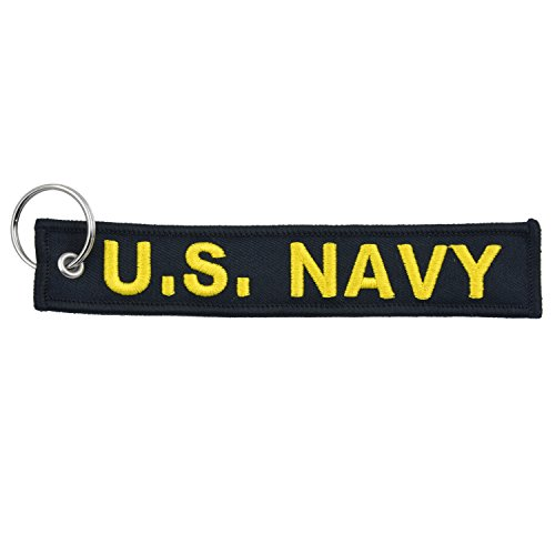 1x-us-military-navy-key-chain-black-yellow