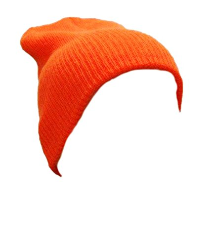 Unknown - Bonnet -  Homme Orange Orange