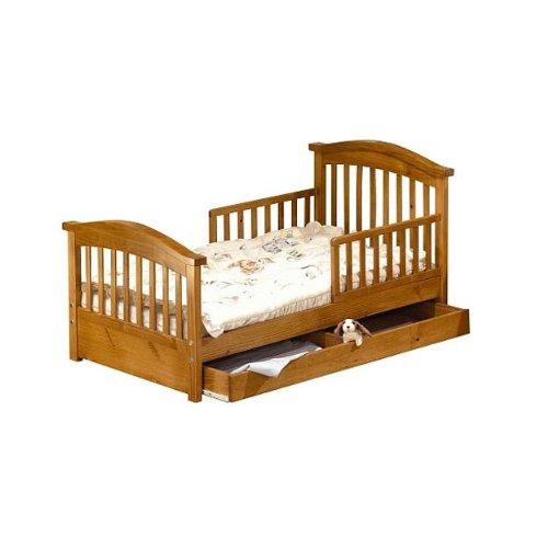 Sorelle Joel Toddler Bed - Oak on Pine