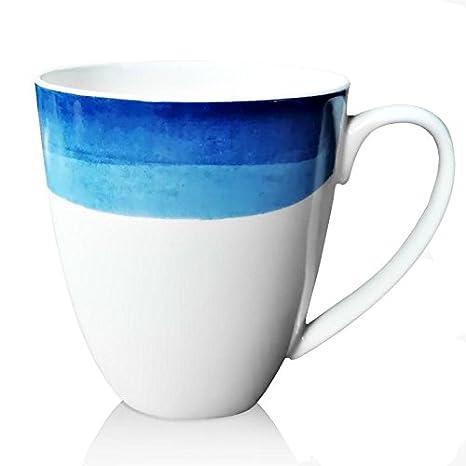 74d6565c20d Amazon.com | Fine Bone China Coffee Mug, Simple Modern Design Tea ...