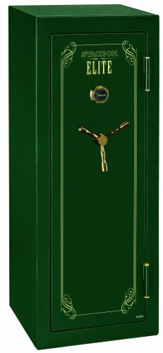 Stack-On E-16-MG-C Elite 16 Gun Security Safe, Combination Lock, Matte Hunter Green