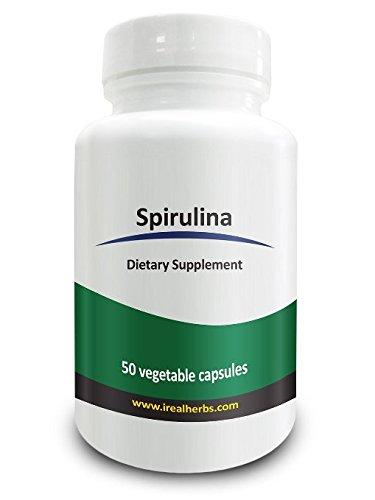 Real Herbs Spirulina Capsules ...