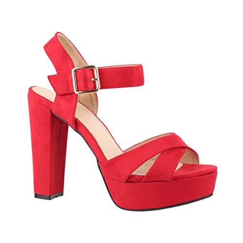 T en Red Elara Paris Fermeture Femme 1c0wS7vzxq