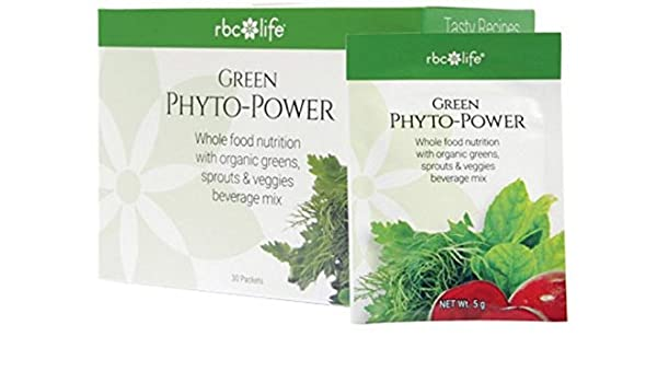 Amazon.com: RBC Life Sciences Green Phyto-Power Packets: Health & Personal Care