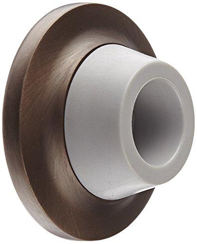 Rockwood 085788 403.10B Concave Solid Cast Wall stop, Satin Bronze Finish, 3'' width, 2'' Length, Dark Bronze by Rockwood