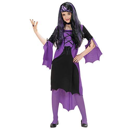 Children's Vampire Girl 128cm Costume Small 5-7 Yrs (128cm) For Halloween Fancy ()