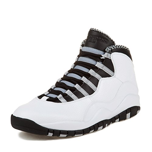 Nike Mens Air Jordan 4 Retro Leather Basketball Shoes