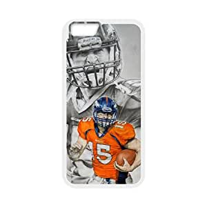 Denver Broncos iPhone 6 4.7 Inch Cell Phone Case White persent zhm004_8549310