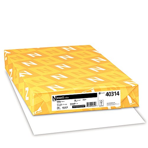 Lb Index Cardstock 90 - Exact Index Cardstock, 11