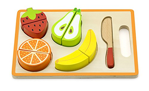 Viga Toys - 50978 - Shape Puzzle - Cutting Fruit