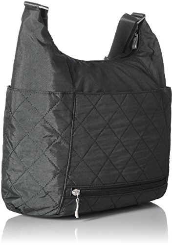 Rfid Baggallini Hobo Pewterquilt Quilted Tote with AAZISq