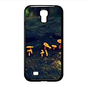 Tiny Mushrooms Watercolor style Cover Samsung Galaxy S4 I9500 Case (Forests Watercolor style Cover Samsung Galaxy S4 I9500 Case)
