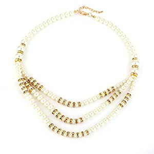 Fashion Pearl Necklace For Ladies, Throw In A Pair Of Pearl Earrings