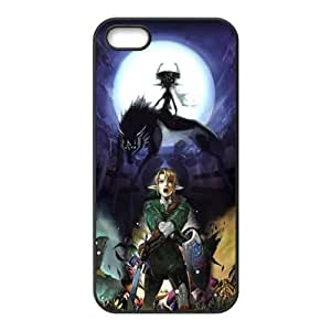 Magical wolf and man Cell Phone Case for iPhone 5S