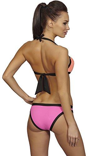 SHE Conjuntos de Bikinis para Mujer Gaby Salmón/Rosa (104/105)