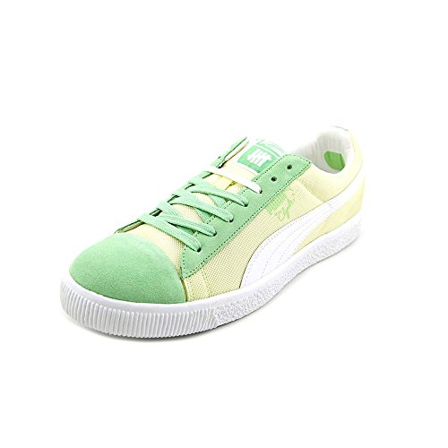 X BALLISTIC PUMA GREEN 01 353920 UNDEFEATED CLYDE WHITE CB SNEAKERS ASH qUqw5txr