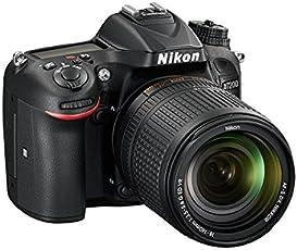 Nikon D7200 Kit Cámara Body D7200, Lente AF-S DX 18-140mm f/3.5-5.6G ED VR y Batería EN-EL15A, Color Negro