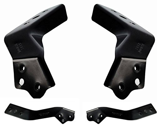 AUTOPA 2046200185 Front Left + Right Bumper Support Bracket Kit for Mercedes Benz W204 X 204 C GLK Class