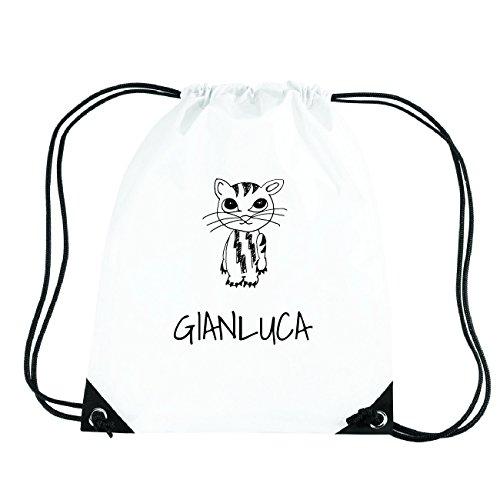 JOllipets GIANLUCA Turnbeutel Sport Tasche PGYM5386 Design: Katze RaF1hUpO